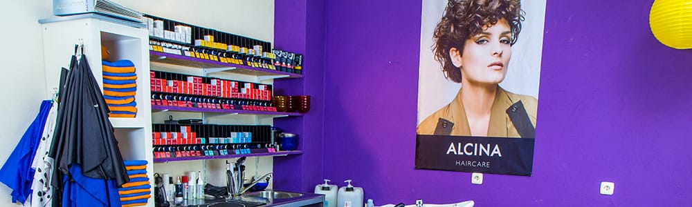Verschiedene Alcina Produkte bei 100% Dein Friseurteam