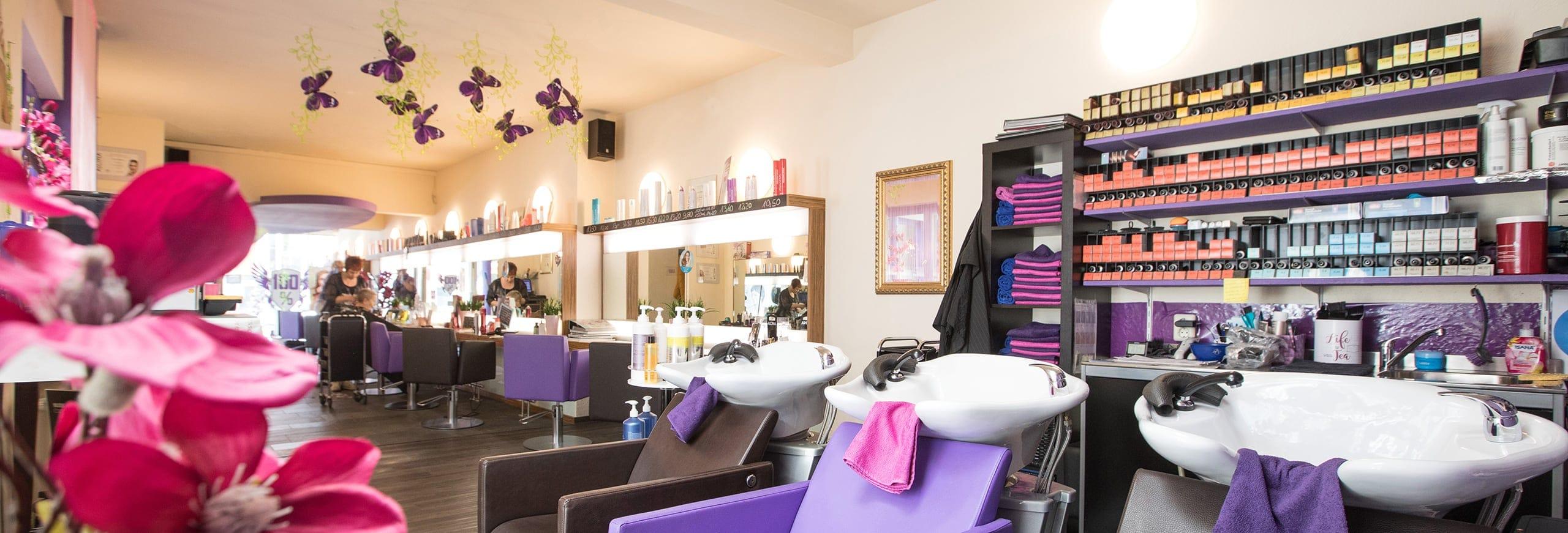 Waschstation bei 100% Dein Friseurteam